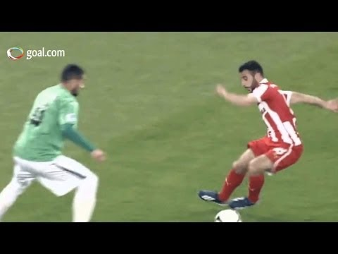 Video – Fetfatzidis marque un but à la Messi