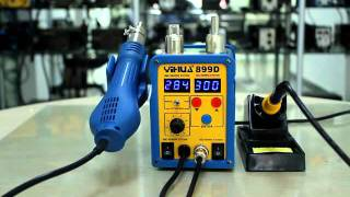 getlinkyoutube.com-NEW! YH-899D HIGH QUALITY 2 IN 1 REWORK + SOLDERING STATION