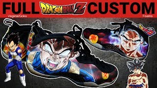 Full Custom | Ultra Instinct Dragon Ball Z Foams by Sierato