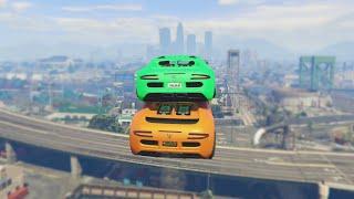 getlinkyoutube.com-FLYING CARS GLITCH (GTA 5 Funny Moments)