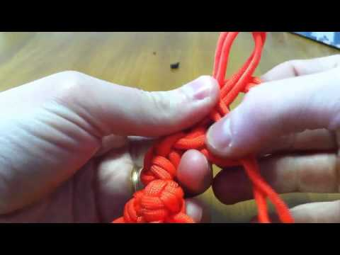 Paracordist's how to make a paracord keychain Bola Bolas Boleadora