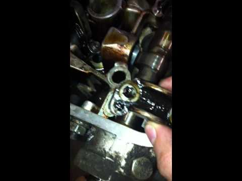 Снятие распредвала Alfa Romeo V6 turbo