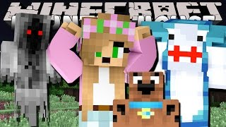 getlinkyoutube.com-MINECRAFT Little Kelly : HUNTING GHOSTS WITH SCOOBY DOO & SHARKY ADVENTURES!