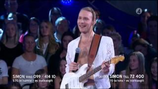 getlinkyoutube.com-Simon Zion - Moves like Jagger (Maroon 5 cover)@ Idol 2015