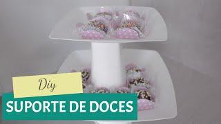 getlinkyoutube.com-DIY: Suporte econômico para doces