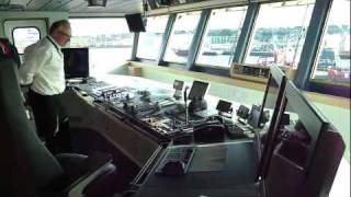 getlinkyoutube.com-Tour of the Bridge of the AHTS Maersk Laser