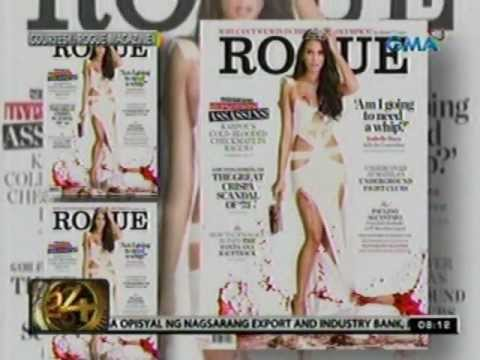 24 Oras: Gloria Diaz, napasugod daw sa photo shoot ni Isabelle Daza