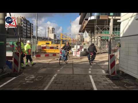 Amsterdam Zuid cycle detour