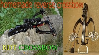 getlinkyoutube.com-made the best homemade crossbow in 2014- buling a powerful hunting crossbow