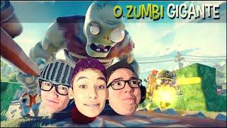 getlinkyoutube.com-ZUMBI GIGANTE !! - Plants vs Zombies