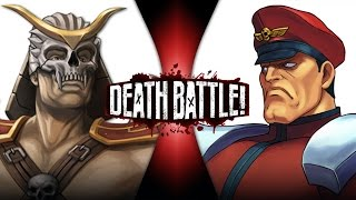 getlinkyoutube.com-Shao Kahn VS M. Bison | DEATH BATTLE! | ScrewAttack!