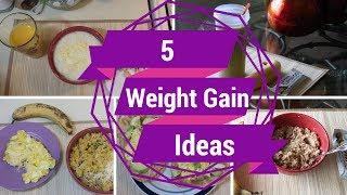 getlinkyoutube.com-5 Healthy Weight Gain Breakfast Ideas 1,000+ Cal ::SkinnyGotCurves::