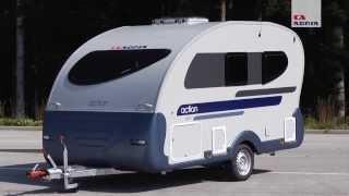getlinkyoutube.com-Kompakt-Wohnwagen Adria Action - Auch für leichte Zugfahrzeuge