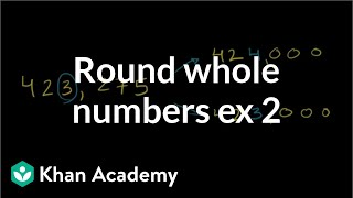 Rounding Whole Numbers 2