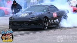 2500HP Worlds Fastest Camaro - 263.2 mph  Twin Turbo - Texas Mile (Gearhead Flicks)
