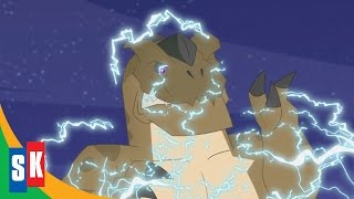 getlinkyoutube.com-Transformers Rescue Bots: Dinobots! (3/3) Dinobots In Battle