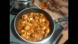 Paneer Mushroom Biryani ..