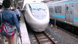 和歌山駅に681系入線/発車
