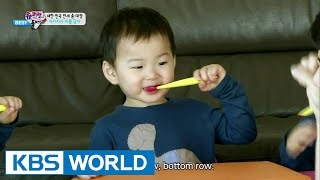 getlinkyoutube.com-The Return of Superman - Let's Brush Our Teeth