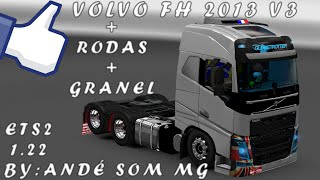 getlinkyoutube.com-VOLVO 2013 V3 BY ANDRÉ SOM MG // RODAS GRANEL RODAS P/ GRANEL
