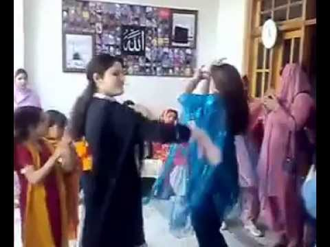 Pakistani dance on a marriage