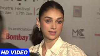 getlinkyoutube.com-Aditi Rao Hydari At Khidkiyaan Theatre Fastival