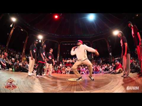 SUPREME CERCLE UNDERGROUND - 1/2 Finale Hiphop - Ghetto Style Vs Pro Phenomen
