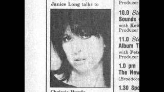 chrissie hynde interview part 1