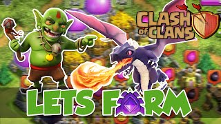 getlinkyoutube.com-Clash of Clans | Lets Farm | DRAGS & Loons| [Deutsch/German]