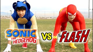 getlinkyoutube.com-Sonic The Hedgehog vs The Flash - With Lethal Soul