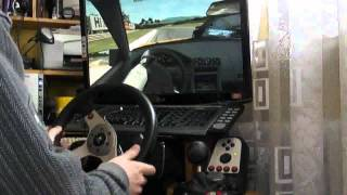 Live For Speed Drifting G25   E-Brake   Leader dP,JaroS Follower Rayu ;) view on youtube.com tube online.