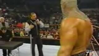 Scott Steiner vs Triple H arm wrestling