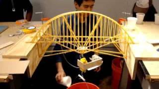 getlinkyoutube.com-NYIT Structures Pasta Bridge Build Off