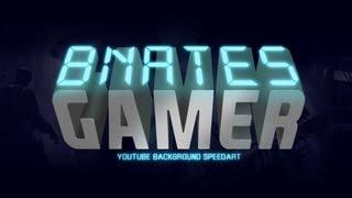 getlinkyoutube.com-BnatesGamer YouTube Banner - Speedart!