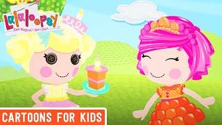 getlinkyoutube.com-Happy, happy! Birthday, happy! | Lalaloopsy: Festival of Sugary Sweets | Lalaloopsy