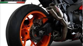 getlinkyoutube.com-HONDA CBR 1000 RR 2014 FIREBLADE GPR EXHAUST SOUND AND CATALOGUE    SCARICO GPR VIDEO CATALOGO