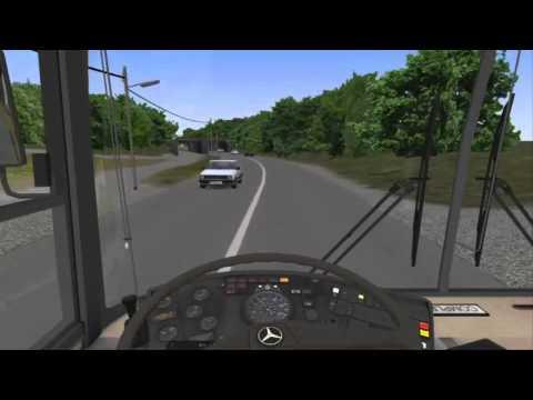 OMSI Bus Simulator - Mercedes Benz 0405 Camo - Mapa de Viena (2/2)