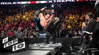 WWE Extreme Rules Craziest Crash Landings: WWE Top 10, July 14, 20 18