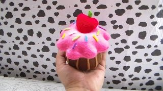 getlinkyoutube.com-DIY! CUPCAKE DE PELUCHE / PLUSH CUPCAKE
