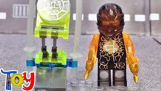 getlinkyoutube.com-dlp 닌자고 에어짓주 콜 투명 미니피규어 야광 무기 레고 짝퉁 Lego knockoff Ninjago cole Clear luminous Block