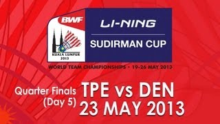 getlinkyoutube.com-QF - MS - Hsueh Hsuan Yi vs Jan O Jorgensen - 2013 Sudirman Cup