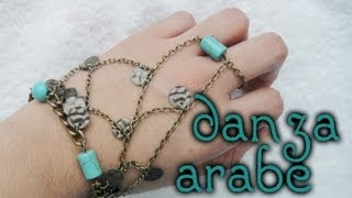 getlinkyoutube.com-DIY♥Pulsera de danza Arabe