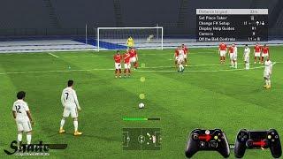 getlinkyoutube.com-PES 2015 Free Kick Tutorial | Xbox & Playstation | HD 1080p