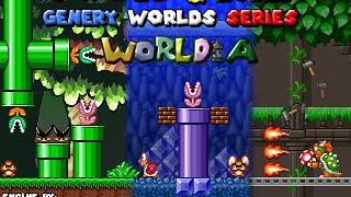Mario & Luigi: Genery Worlds Series - World A [HD]