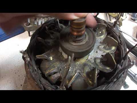 Генератор Bosh 120A Opel Omega B, ремонт