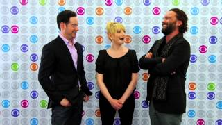 getlinkyoutube.com-THE BIG BANG THEORY Interview: Johnny Galecki and Melissa Rauch
