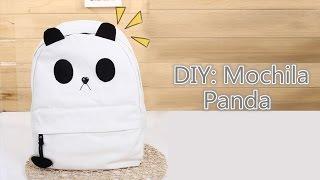 getlinkyoutube.com-DIY: Mochila Panda | Panda Backpack