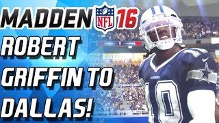 100 YARD RUN! RG3 IS CURSED! - Madden 16 Ultimate Team