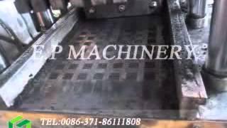 getlinkyoutube.com-hydraulic pressure coconut shell charcoal Shisha Charcoal Machine