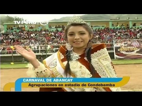 Carnaval en Abancay y Cajamarca 2014 (TV PERU) - Parte 2